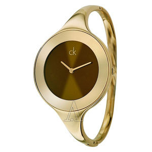 Calvin Klein Gold Bangle Watch